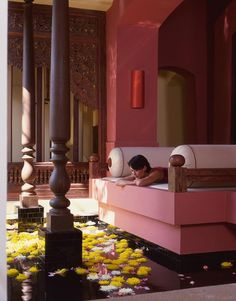 Spa relaxation at Four Seasons Chiang Mai Thailand