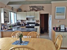 Gourmet and family cooking in the open, airy kitchen. Dennis, Cape Cod vacation rental on WeNeedaVacation.com ID 7745