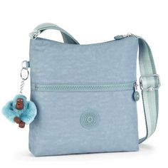 12199/50 K12199 ZAMOR pale blue handbag from Kipling now available in store and online at www.Beggshoes.com