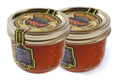 Pack of two jars Kosher Certified by the Orthodox Union. Product of the USA Tsar's Salmon (Red) Caviar 200 g (7 oz.). Pack of two jars