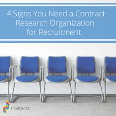 There's a significant amount of work that goes into planning and executing a clinical trial. One of the most daunting tasks might be recruiting viable candidates for your study. We recently discussed how to keep your recruited patients once you've found them, but how do you actually round up such fitting candidates in the first place? http://trialfacts.com/4-signs-need-contract-research-organisation-recruitment/