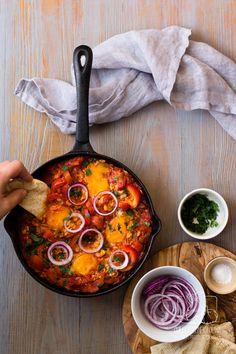 Chilli, Czosnek i Oliwa | blog kulinarny: Jak zrobić tradycyjną tunezyjską szakszukę (shaksh...
