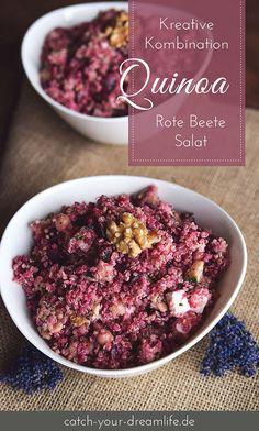 Kreative Kombination: Quinoa Rote Beete Salat.