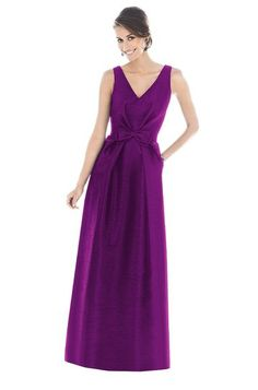 Alfred Sung D505 Bridesmaid Dress | Weddington Way