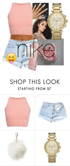Nike by covergirlzariya13 on Polyvore featuring Free People, Michael Kors and Charlotte Russe