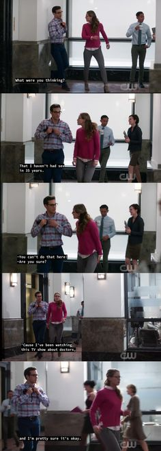 Supergirl<-- wow that was fast. This episode aired yesterday