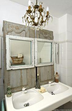 Maison du Morbihan, le lavabo