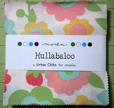 Hullabaloo Charm pack by Urban Chiks for MODA by oneygirl on Etsy