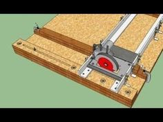 Woodworking Jig Plans, Beginner Woodworking Projects, Woodworking Shop, Home Made Table Saw, Diy Table Saw, Diy Furniture Projects, Diy Pallet Projects, Cierra Circular, Table Saw Crosscut Sled
