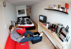 Pictures: Amsterdam's Lean, Green Shipping Container Homes - via http://bit.ly/epinner