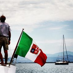 BANDIERA / FLAG   |   #my_marina eBook   |   Photo courtesy of @portodegliargonauti [http://instagram.com/portodegliargonauti]