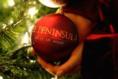 """The Peninsula Beverly Hills will participate in The Peninsula Hotels' worldwide charity program, the """"Trees of Hope."""" Proceeds from the purchased ornaments will go to The Make-A-Wish Foundation of Beverly Hills."""