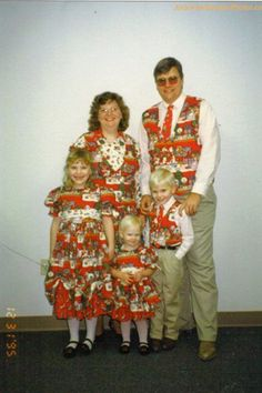 Note to Everyone...Don't Buy Matching Outfits lol...especially these outfits