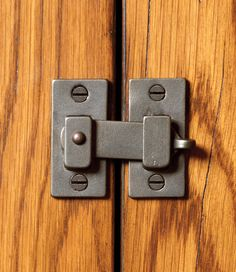 Cabinet Latch | Rocky Mountain Hardware - Dog Crate Latch Option