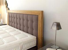 Tete de lit bois tissus NOVA by MOBILIER DE FRANCE