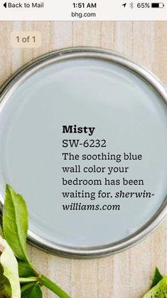 Master bath paint colors 2019 15 ideas for 2019 Foyer Colors, Blue Wall Colors, Front Door Colors, Interior Paint Colors For Living Room, Bedroom Paint Colors, Paint Colors For Home, Paint Colours, Interior Colors, Sherwin Williams Sea Salt