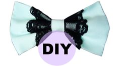 DIY Lace Hair Bow NO SEW | Pastel Goth or Halloween Outfits! |