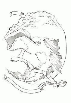 """FASTITOCALON Projeto de ilustrações para o """"Livro dos seres imaginários"""""""