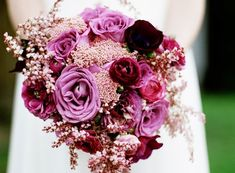 Plum, Purple, Fuschia...love the colors and the flower styles