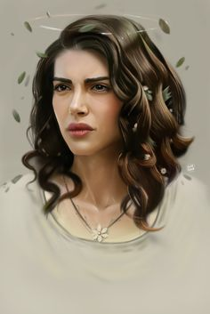 Kai Fine Art is an art website, shows painting and illustration works all over the world. Celebrity Drawings, Celebrity Portraits, Muse Magazine, Digital Portrait, Digital Art, Actrices Hollywood, Turkish Beauty, How To Draw Hair, Beautiful Drawings