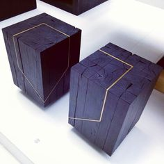 #romaniandesigner #rdw2016 #design #cube #romaniandesignweek2016 #wood #texture #ig_bucharest #gold #concept #furniture by alexandra.etc