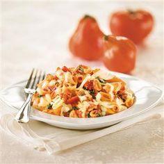 Baked Penne With Ricotta And Mozzarella Recipe- Recipes  Recipe provided by Galbani® Italian Cheese