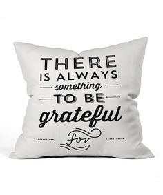 DENY Designs Something to Be Grateful for Throw Pillow