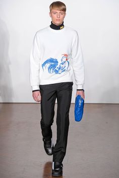 J.W. Anderson | Fall 2012 Menswear Collection | Style.com