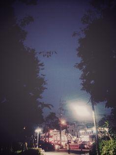 평범한 도시의 야경