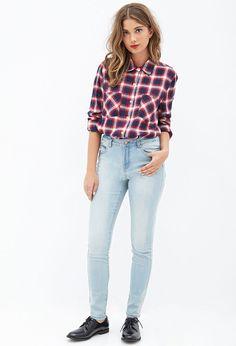 Mid Rise - Skinny Jeans #Denim