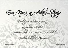 Svadobné oznámenie - SO200