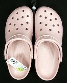 Crocs Cayman Classic Clogs Womens Size 12 Cotton Candy Pink
