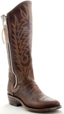 I really like these. I can't exactly figure out why because it's a departure from my usual preference in boots. These need to be in my closet.
