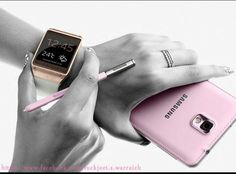 So excited about Galaxy note 3. Definitely going for pink! My favourite. :-)