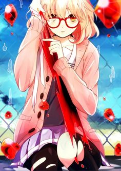 saw the intro for this series.and ended up watching half of it in a few hours so far definitely enjoying it A LOT ^_^ Chica Anime Manga, Anime Kawaii, All Anime, Anime Art, Anime Girls, Anime Chibi, Character Art, Character Design, Mirai Kuriyama