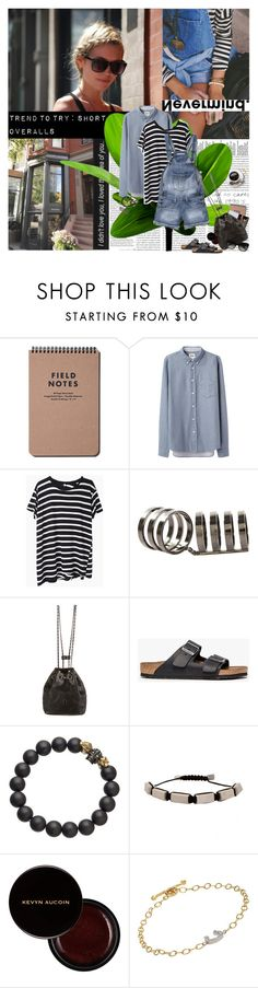 """""""Trend to try: Short Overalls"""" by shift ❤ liked on Polyvore featuring Oris, Katie, Acne Studios, R13, Repossi, Pepe Jeans London, Chanel, Birkenstock, Eklexic and Bulliony"""