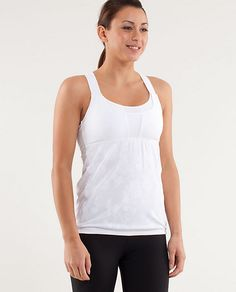 5cf82621e8 Lululemon Run  Stuff Your Bra Tank. I love when Lulu combines a sports bra