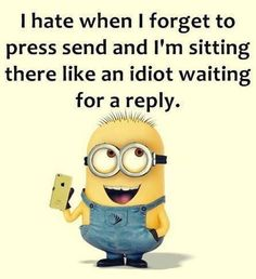 14 Minions Quotes That Are Ridiculously Funny Cheer yourself up with these ultra hilarious quotes from the Minions. The post 14 Minions Quotes That Are Ridiculously Funny appeared first on Paris Disneyland Pictures. Funny Minion Pictures, Funny Minion Memes, Minions Quotes, Funny Relatable Memes, Funny Texts, Funny Jokes, Hilarious Quotes, Minion Humor, Epic Texts