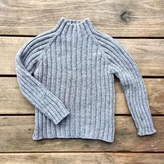 Olives Classic Rib – Knitting for Olive Jumper Patterns, Baby Knitting Patterns, Baby Patterns, Baby Outfits, Kids Outfits, Boys Sweaters, Knitting For Kids, Ribbed Sweater, Jumpers