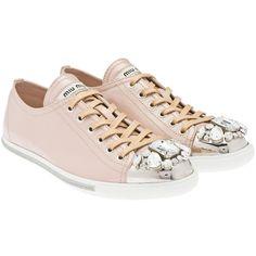 Miu Miu Sneakers ❤ liked on Polyvore