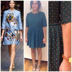 #Frankiesaysshop #Clothesshowlive #dress #folk #pattern