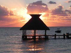 Zoetry Paraiso de la Bonita: Marina at sunrise.