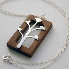 Wooden Frame Pendant