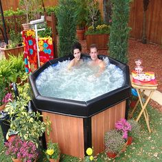 Spa2Go 4 Person Hot Tub at Brookstone. Buy Now!
