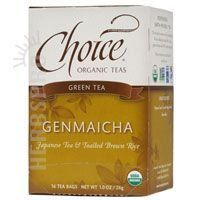 CHOICE ORGANIC TEAS TEA,OG2,GENMAICHA, 16 BAG *** You can get more details by clicking on the image. (This is an affiliate link) #GreenTea