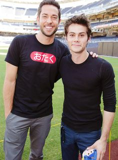 Comic Con 2013 - teen-wolf Photo  two of my fave funny guys in one picture perfect! :-)
