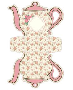 teapot box http://fazendoaminhafesta.com.br/2014/02/molde-limpo-e-decorado-e-passo-a-passo-da-caixinha-bule-de-cha.html