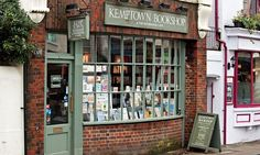 Adorable bookshop; evocative of everything Dickensian