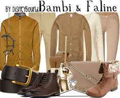 Bambi & Faline by diseybound