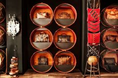 Situated in Soho, the store is famous for its British designs and vintage-look furniture and lighting. Handcrafted interiors by Timothy Oulton. Old Musical Instruments, Drum Shop, Church Music, Green Rooms, Boutique Design, Love Design, Upcycled Furniture, Retail Design, Visual Merchandising